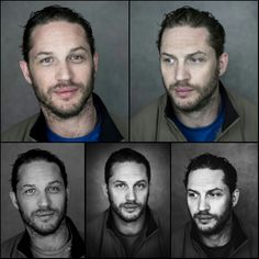 Tom Hardy collage... I just can't get over how beautiful these photos are.
