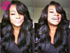 Brazilian Hair U Part Wig Unprocessed Human Hair Right Upart Wigs With Side Bangs For Black Women