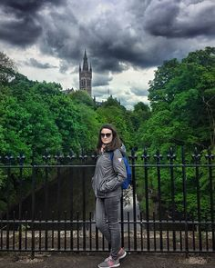 Tourist shot in front of University of Glasgow and loooots of fab trees  #travel #eurotrip #trip #wanderlust #inspiration #writersofinstagram #writerslife #instagood #instatravel #bookstagram #travelgram #instago #followme #traveldeeper #instamood #instadaily #vacation #ig_europe #urban #building #cityscape #citiesofinstagram #university #tree #nature #scotland #cold #universityofglasgow #bridge #glasgow Eurotrip, Bookstagram, Glasgow, Scotland, Bridge, Wanderlust, University, Trees, Europe