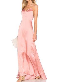 c0e01ed22 Solid Aymmetric Backless Strap Maxi Dress  trends  dresses  dress   fashionable
