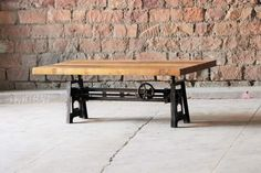 Hyatt+-+Fulton+Industrial+Adjustable+Height+Coffee/Dining+Table
