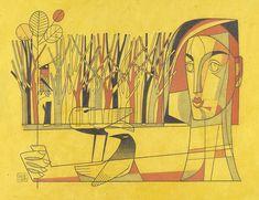 'adoring nature' by david hile David, Fine Art, Nature, Painting, Naturaleza, Painting Art, Paintings, Visual Arts, Nature Illustration