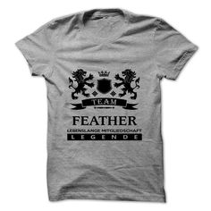FEATHER T-Shirts, Hoodies. CHECK PRICE ==► https://www.sunfrog.com/Camping/FEATHER-112266463-Guys.html?id=41382