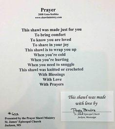 Prayer Shawl Poem