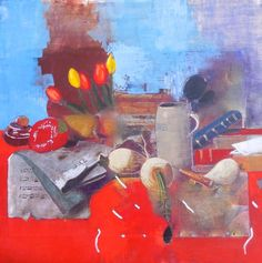"Saatchi Art Artist Christina Penrose; Painting, ""dutch interior #2"" #art"