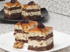 Prăjitură cu caramel Romanian Desserts, Romanian Food, Romanian Recipes, Cookie Recipes, Dessert Recipes, Cupcake Cakes, Cupcakes, Tiramisu, Sweet Tooth