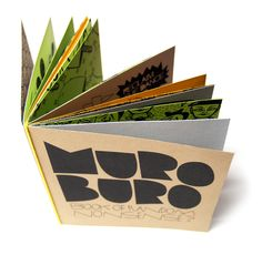 Muro Buro Book of Random Nonsense? by Paul Robson, via Behance