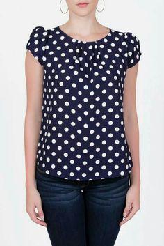 I love polka dots, so vibrant and cheeky.