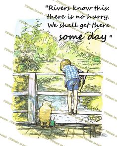 Winnie-the-Pooh quotes Rivers know this there is by JPEGgeneration