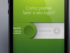 HomeBanking iOS App by Jorge Olino (Lisbon)
