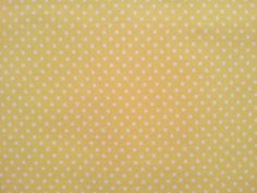 Viskosekrepp gelb mit weißen Punkten