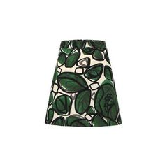 Yoins Green A-Line Mini Skirt
