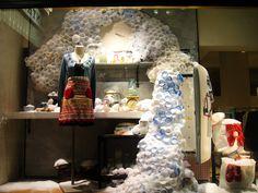 #Anthropologie window displays  #shops
