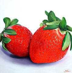 Strawberries | Sarah E. Wain