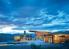 Una casa de Tom Kunding para sonar en los largos fines de semana; aislada, naturaleza y lujo! Invitannos!