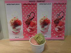 Pistachio & Strawberry  ( Ice cream )
