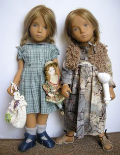 Some of the SCW Visiting Dolls.