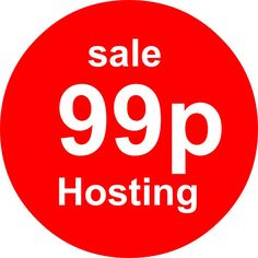 Any Hosting Package From The Web it World 99p Per Month