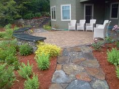 Patio Landscaping - Natures Elite Landscaping in Meredith, NH