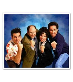 Seinfeld Oil Painting Limited Editions - myDaVinci.com