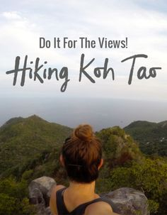 Koh Tao has plenty of good views, and if you are looking for a good work out, hiking Koh Tao is a great way to do it! These 3 hike will not disappoint. Thailand Adventure, Thailand Travel Tips, Phuket Thailand, Asia Travel, Adventure Travel, Thailand Vacation, Ko Samui, Koh Phangan, Hiking Tips
