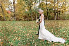 Tennessee Backyard Wedding from Leslee Mitchell Fall Wedding, Autumn Weddings, Nashville, Tennessee, Style Me, Floral Design, Backyard, Bridal, Wedding Dresses