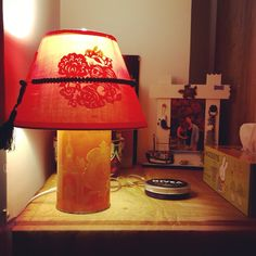 Fancy chinese lamp