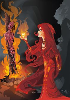 Melisandre of Asshai by ~dejan-delic on deviantART #asoiaf #GoT