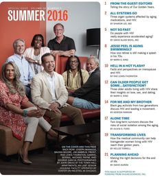 So honored to be one of the long term survivors to grace the cover of Positively Aware @tpanetwork  special issue on aging with #HIV! Photographer @johngressmedia Art Director @rickguasco #divalivingwithAIDS #hiv #aids #aidsawareness #raelewisthornton