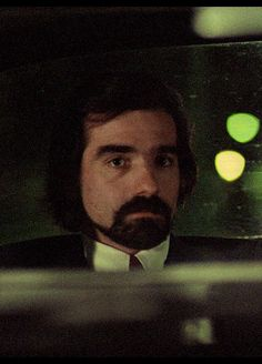 Young Martin Scorsese In Taxi Driver
