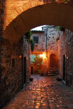 Montefioralle-Tuscany One of the most beautiful villages in Italy