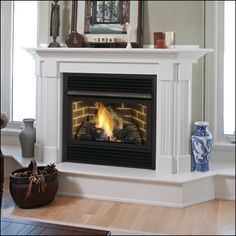 Raised Hearth Fireplace Adorable With Top Contemporary