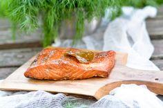 Kulinarne  pyszności  Molki: Domowy wędzony łosoś