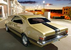 All that glitters is not gold - in this case it is more precious. Australian Muscle Cars, Aussie Muscle Cars, Best Muscle Cars, My Dream Car, Dream Cars, Holden Muscle Cars, Holden Monaro, Car Facts, Ford Torino