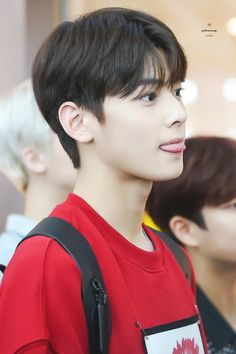 Asian Actors, Korean Actors, Korean Celebrities, Celebs, Kim Myungjun, Cha Eunwoo Astro, Lee Dong Min, Trendy Baby, Asian Men