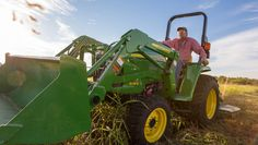 John Deere's 3032E and 3038E feature customer-driven updates for added convenience, comfort and ease of use.