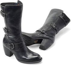 "Womens Maleri in Black 9-7/16 $185 2.5"" heel"