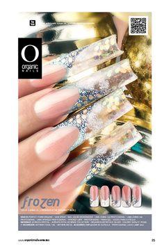 26 Frozen  Julio Carrillo/ Proeducator Organic® Nails Diseño publicado en la revista Lo Mejor No. 26 de Organic® Nails.   http://youtu.be/aYwEyU_Fp9Y?list=PLVzihPafxEEwjNT0GraEhIaapZy8j2fXW