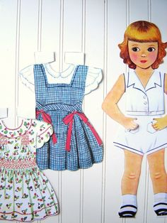 I had this paperdoll when I was younger.  Well, I inherited it from my mom anyway and played with it as a girl.  Love it!