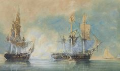 (1793, Oct. 20) HMS Crescent, & HMS Circe vs Réunion & Espérance - British victory over the French.