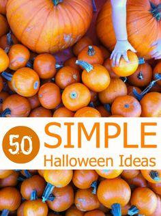 50 DIY Simple Halloween Ideas