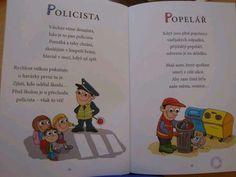 básničky o povolání - Hledat Googlem Kindergarten, Crafts For Kids, Preschool, Character, Pilot, Google, Wicker, Literatura, Carnavals