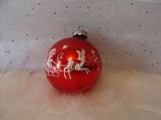Your place to buy and sell all things handmade Vintage Christmas Ornaments, Christmas Bulbs, Christmas Cards, Christmas Decorations, Holiday Decor, Mercury Glass, Reindeer, Snow, Fancy