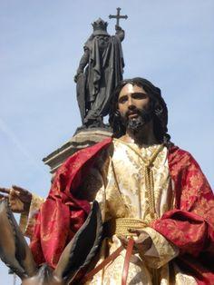 Procesión de la Borriquilla que se celebra el Domingo de Ramos y se dedica a los niños.