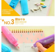 Handy Electric Erasers Kit With 30 Eraser Refills