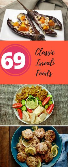 70 Israeli Recipes To Make This Year Mark your calendars for May it's Israel's birthday! Cook some classic Israeli food to celebrate! Kosher Recipes, Healthy Recipes, Kosher Food, Delicious Recipes, Israeli Food, Israeli Recipes, Coliflower Recipes, Shabbat Dinner, Eastern Cuisine