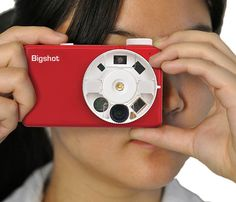 2013 Gift Of The Year - Big Shot DIY Digital Camera for kids and adults!