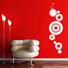 With the artistic wall sticker and design your interior will take on a new dimension. Personalize your decor and create a trendy and modern decor with our beautiful wall stickers Ambiance sticker! Wall Art Designs, Wall Design, Neutral Living Room Colors, Wall Painting Decor, Cat Decor, Diy Furniture Projects, Room Paint, Vinyl Wall Decals, Wall Prints