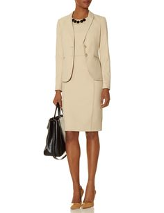 Collection Piped Sheath Dress & Jacket | THE LIMITED