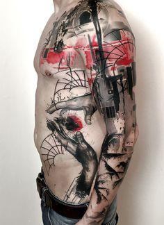 Tattoos by Trash Polka